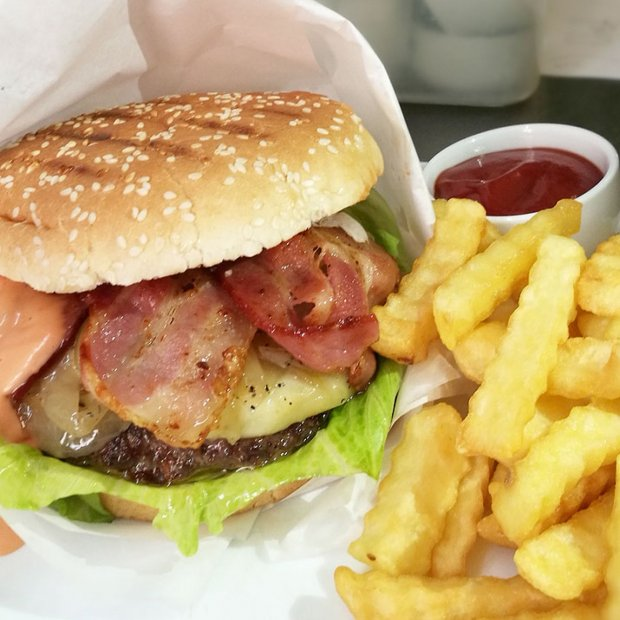 Lux Burger Beef & Bacon
